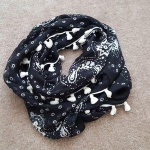 J.Crew silk infinity scarf